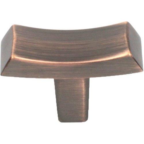 Century Hardware L'Arco 1-13/16 Inch Diameter Antique Bronze W/ Copper Cabinet Knob 25919-AZC