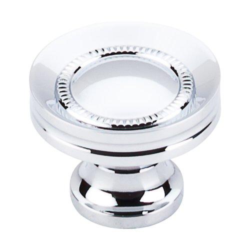 Top Knobs Somerset 1-1/4 Inch Diameter Polished Chrome Cabinet Knob M291