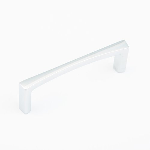 Schaub and Company Italian Contemporary 4 Inch Center to Center Polished Chrome Cabinet Pull 501-26
