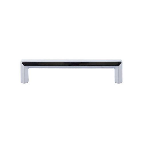 Serene 5-1/16 Inch Center to Center Polished Chrome Cabinet Pull <small>(#TK794PC)</small>