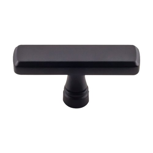 "Devon Kingsbridge Knob 2-3/8"" Dia Flat Black <small>(#TK852BLK)</small>"
