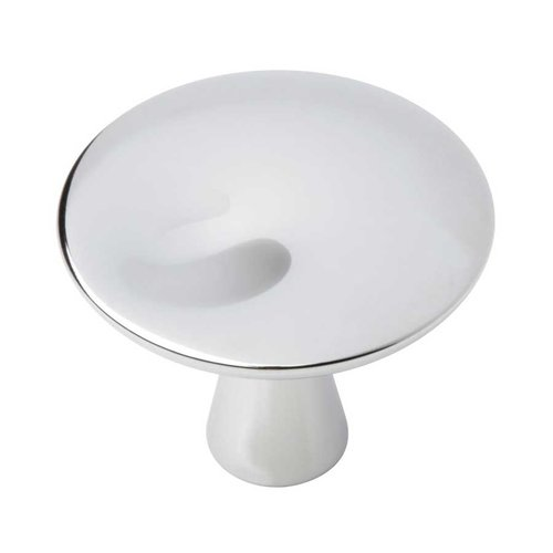 Liberty Hardware Barcelona 1-1/4 Inch Diameter Polished Chrome Cabinet Knob P18012C-PC-C