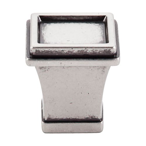 Top Knobs Great Wall 1-1/8 Inch Length Pewter Antique Cabinet Knob TK185PTA