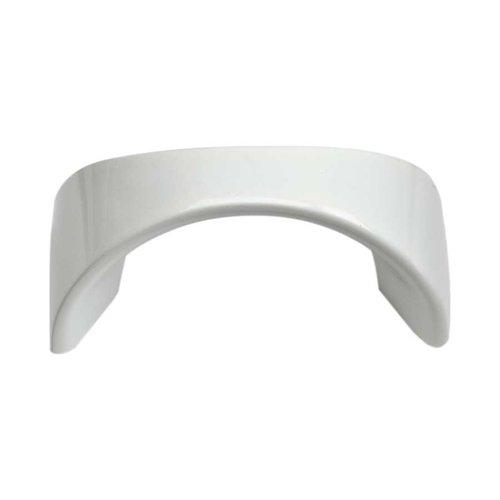 Atlas Homewares Sleek 1-1/4 Inch Center to Center High White Gloss Cabinet Pull A848-WG