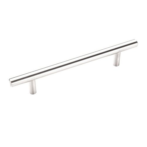 Amerock Bar Pulls 5-1/16 Inch Center to Center Stainless Steel Cabinet Pull BP19541SS