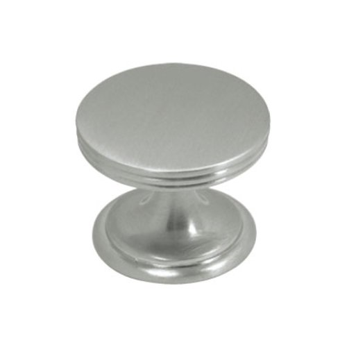 Hickory Hardware American Diner 1-3/8 Inch Diameter Satin Nickel Cabinet Knob P2142-SN