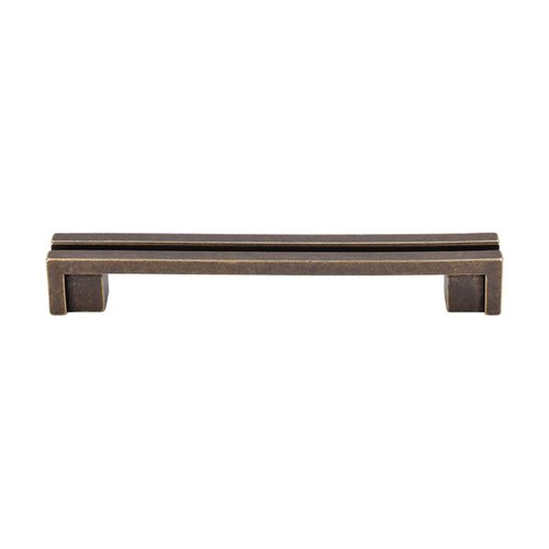Top Knobs Sanctuary 5 Inch Center to Center German Bronze Cabinet Pull TK56GBZ