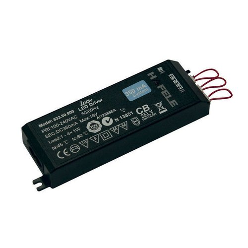 Hafele Loox LED Driver 350 mA 1-4 Watts 833.80.900