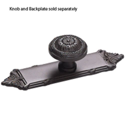 Schaub and Company Versailles Forged Solid Brass 1-1/4 Inch Diameter Oil Rubbed Bronze Cabinet Knob 751-10B