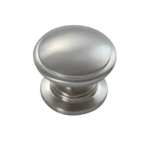 Hickory Hardware Williamsburg 1-1/4 Inch Diameter Satin Nickel Cabinet Knob P3053-15