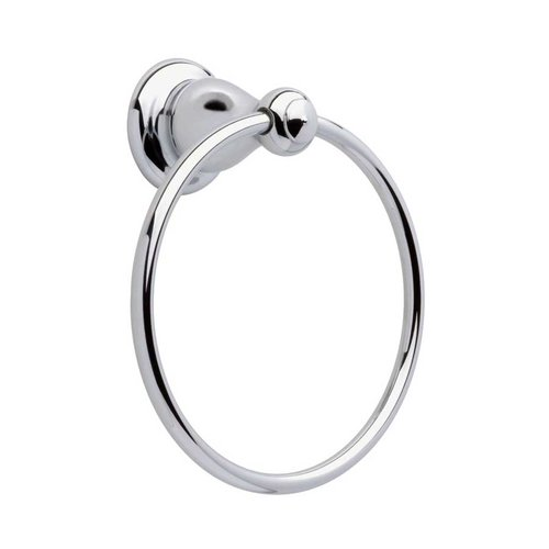 Delta Leland 6 inch Towel Ring Polished Chrome 77846