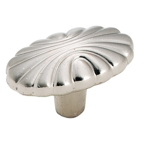 Natural Elegance 1-9/16 Inch Diameter Sterling Nickel Cabinet Knob <small>(#BP1338G9)</small>
