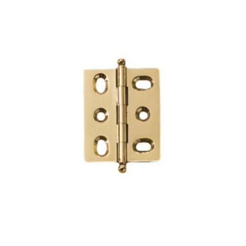 Hafele Elite Mortised Butt Hinge 50X40mm - Polished Brass 354.17.810
