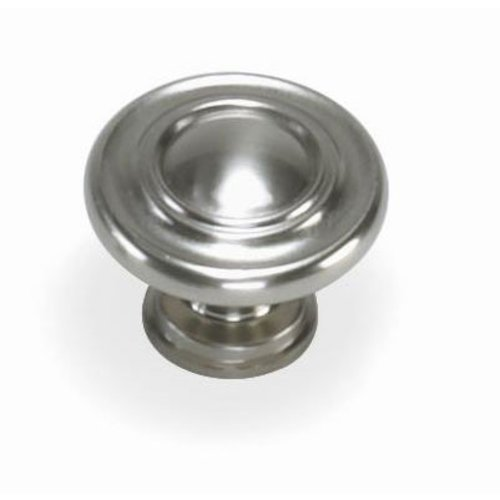 Laurey Hardware Nantucket 1-3/8 Inch Diameter Satin Pewter Cabinet Knob 51839