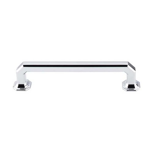 Top Knobs Chareau 5 Inch Center to Center Polished Chrome Cabinet Pull TK288PC