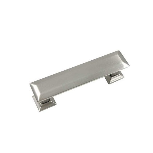 MNG Hardware Poise 3 Inch Center to Center Satin Nickel Cabinet Pull 83628