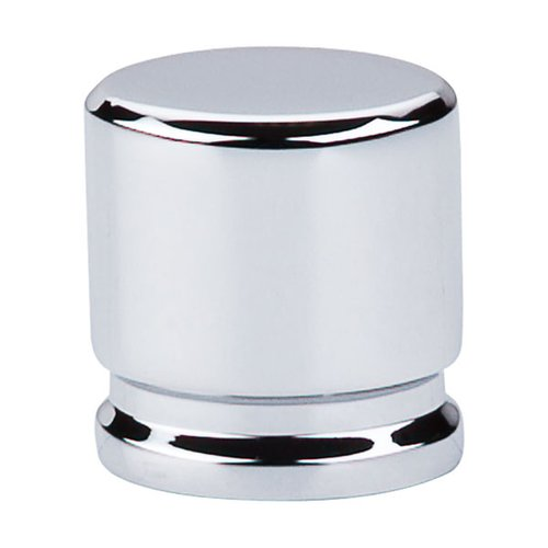 Top Knobs Sanctuary 1-1/8 Inch Length Polished Chrome Cabinet Knob TK59PC