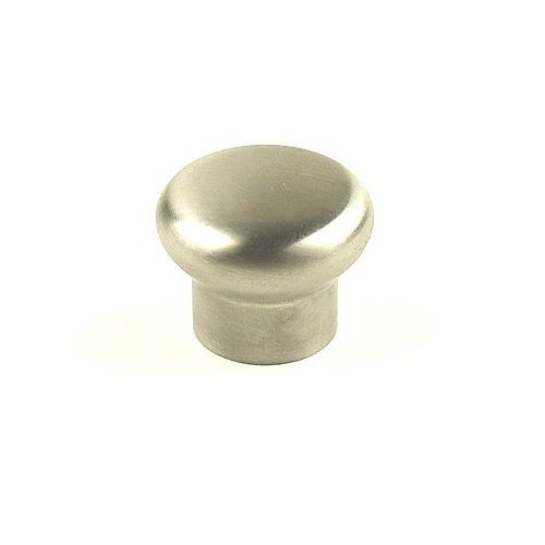 Century Hardware Stainless 1-3/16 Inch Diameter Brushed Stainless Steel Cabinet Knob 40425-32D