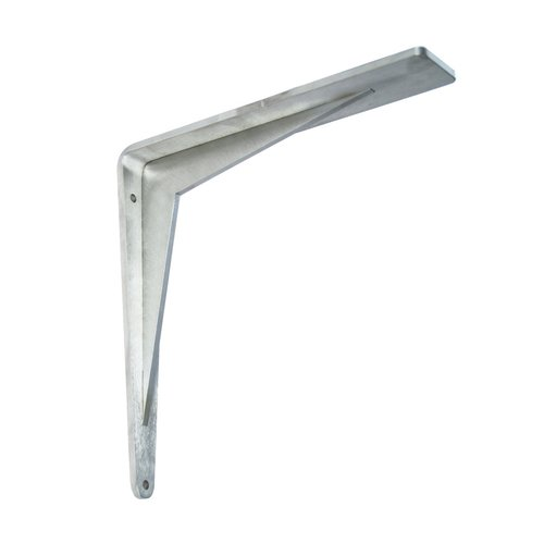 "Federal Brace Chevron Countertop Support 18"" X 18"" Stainless Steel 40216"