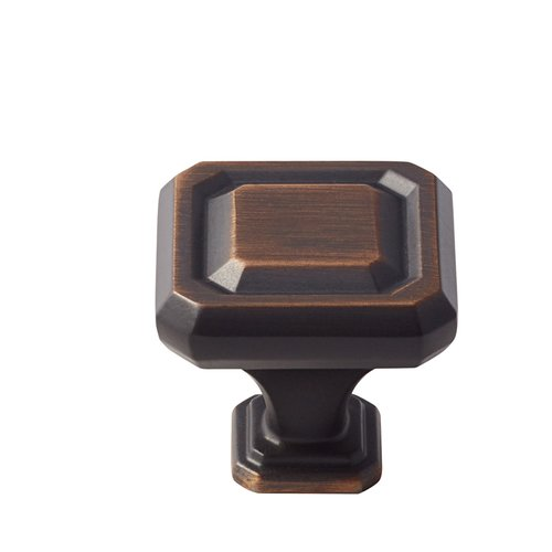 Wells 1-1/4 Inch Diameter Oil Rubbed Bronze Cabinet Knob <small>(#BP36546ORB)</small>