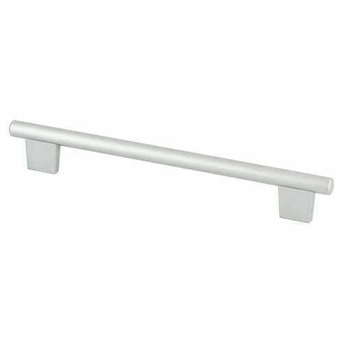 Berenson Euroline 7-9/16 1/2 Inch Width Aluminum Cabinet Pull 2971-1ALU-C