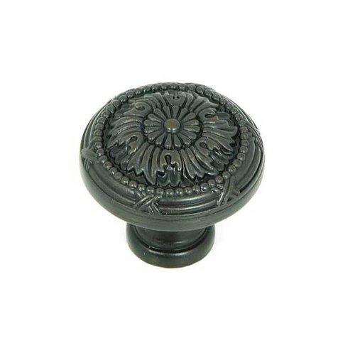 Stone Mill Hardware Cornell 1-1/4 Inch Diameter Oil Rubbed Bronze Cabinet Knob CP2020-OB