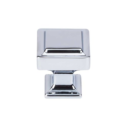 Top Knobs Transcend 1-1/8 Inch Diameter Polished Chrome Cabinet Knob TK701PC