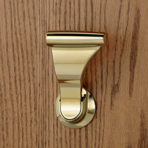 "Soss UltraLatch for 2"" Door Bright Brass L34-3"