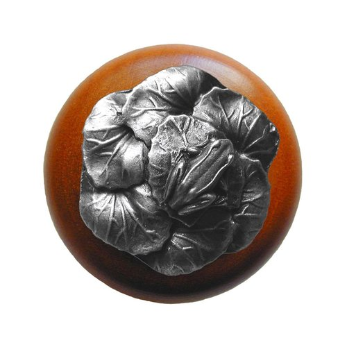 Notting Hill All Creatures 1-1/2 Inch Diameter Antique Pewter Cabinet Knob NHW-709C-AP