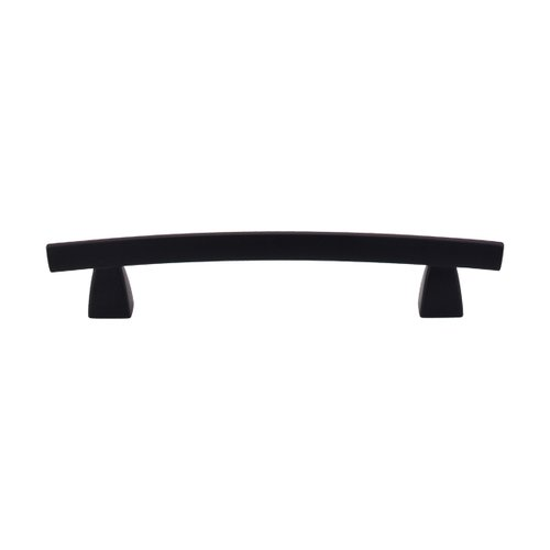 Top Knobs Sanctuary 5 Inch Center to Center Flat Black Cabinet Pull TK4BLK