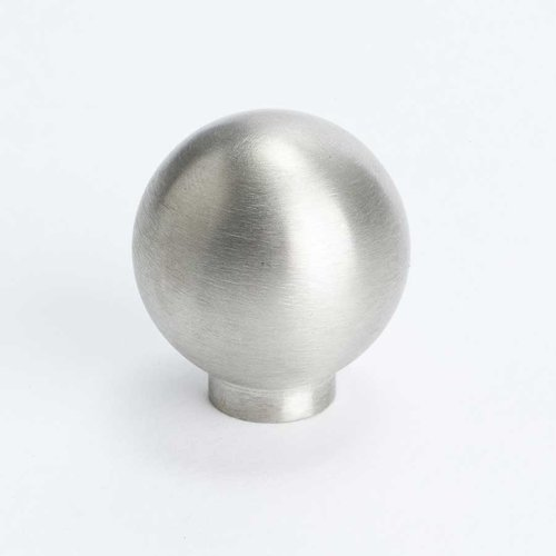 Berenson Stainless Steel 1 Inch Diameter Stainless Steel Cabinet Knob 7079-9SS-C