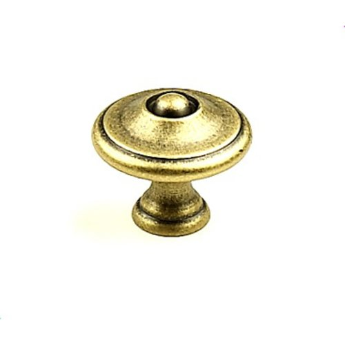 Century Hardware Hartford 1-3/16 Inch Diameter Aged English Cabinet Knob 15825-3B