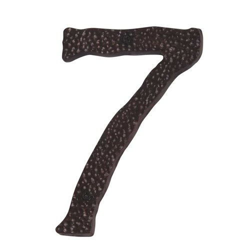 Atlas Homewares Hammered House Number Seven Copper HN7L-O