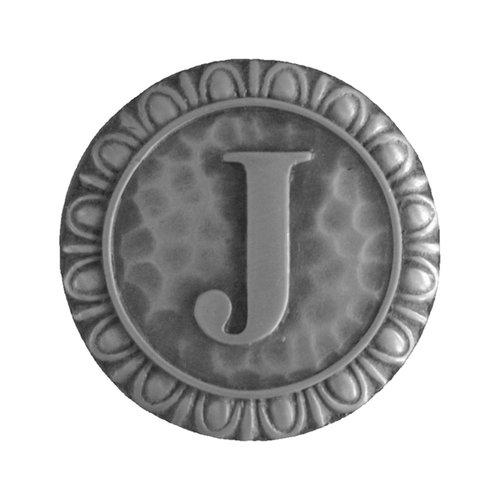 Notting Hill Jewel 1-3/8 Inch Diameter Antique Pewter Cabinet Knob NHK-189-AP