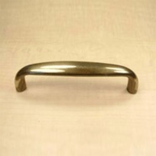 Yukon 4 Inch Center to Center Polished Antique Cabinet Pull <small>(#13337-PA)</small>