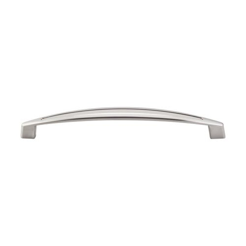 Top Knobs Appliance Pull 12 Inch Center to Center Brushed Satin Nickel Appliance Pull TK147BSN