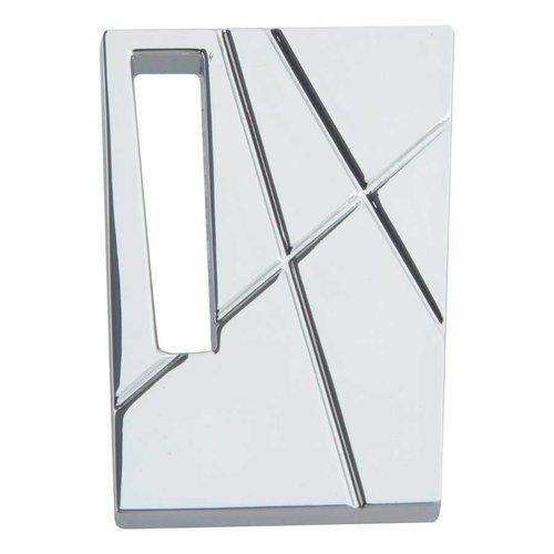 Atlas Homewares Modernist 1-3/4 Inch Diameter Polished Chrome Cabinet Knob 252R-CH