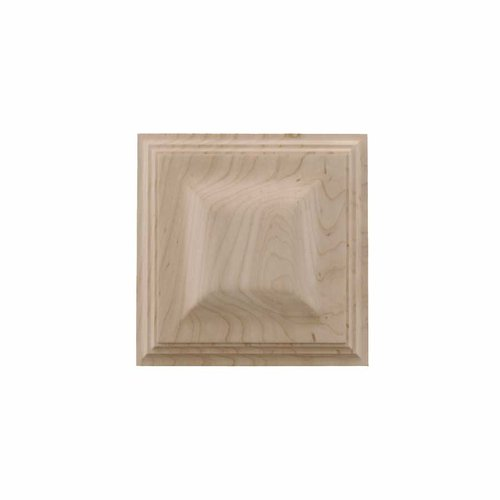 Brown Wood Large Triad Tile Unfinished Hard Maple 01902512HM1