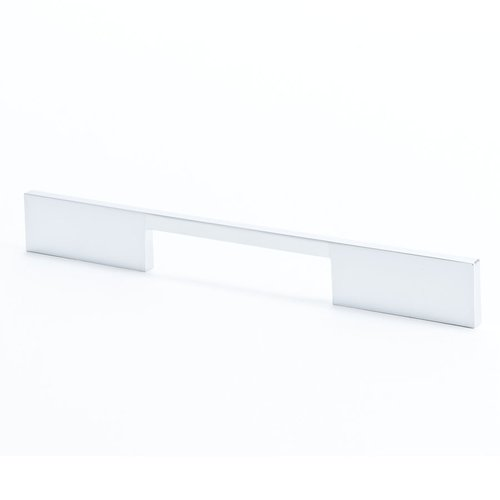 R. Christensen I-Spazio 7-9/16 Inch Center to Center Dull Chrome Cabinet Pull 9298-10DC-C