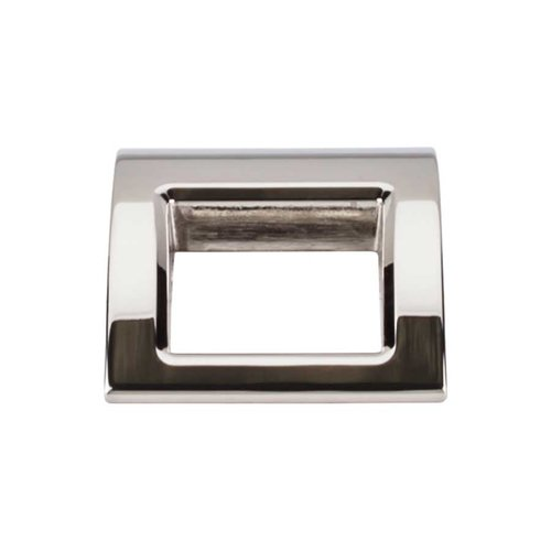 Top Knobs Mercer 1-1/2 Inch Length Polished Nickel Finger Pull TK616PN