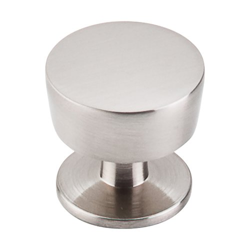 Top Knobs Nouveau III 1-3/16 Inch Diameter Brushed Satin Nickel Cabinet Knob M1122