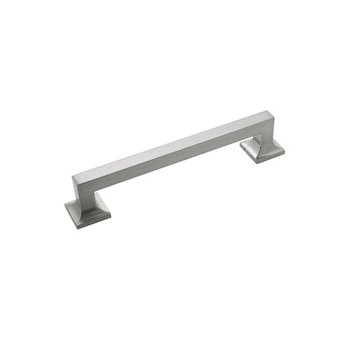 "Hickory Hardware Studio Pull 6-5/16"" C/C Satin Nickel P3018-SN"