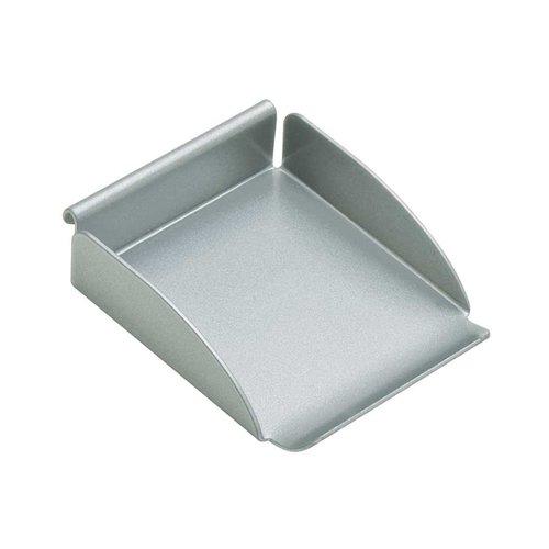 "Hafele Omni Track Small Tray 3-3/8"" X 2-3/4"" Silver 818.83.930"