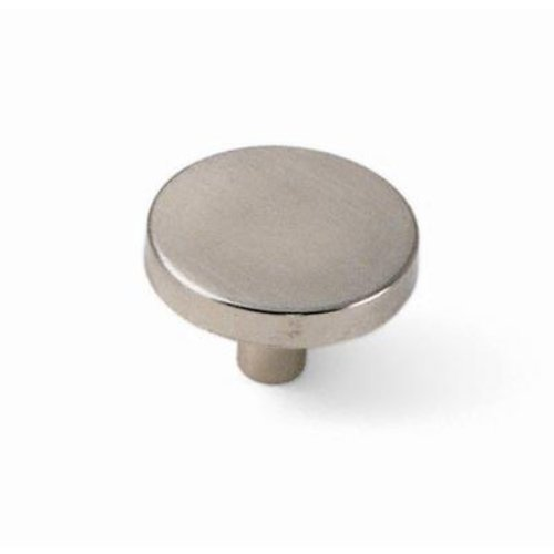 Laurey Hardware Tech 1-1/4 Inch Diameter Satin Chrome Cabinet Knob 34539