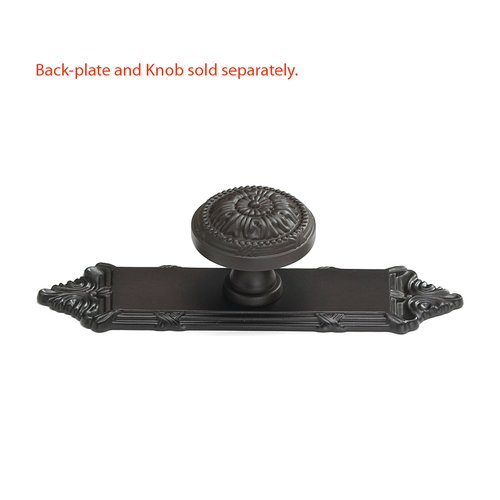 Schaub and Company Versailles Forged Solid Brass 1-1/2 Inch Diameter Oil Rubbed Bronze Back-plate 761-10B