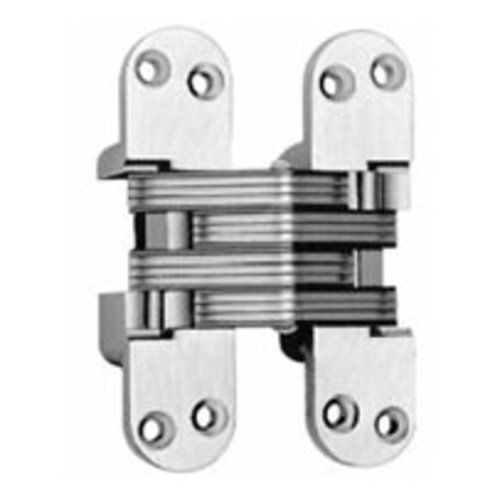 Soss #218 Invisible Spring Closer Hinge Satin Brass 218ICUS4
