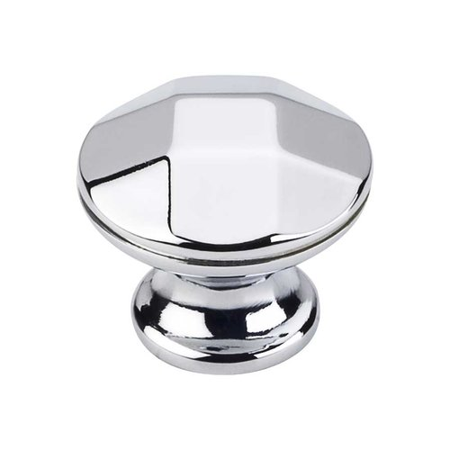 Elements by Hardware Resources Drake 1-1/4 Inch Diameter Polished Chrome Cabinet Knob 423PC