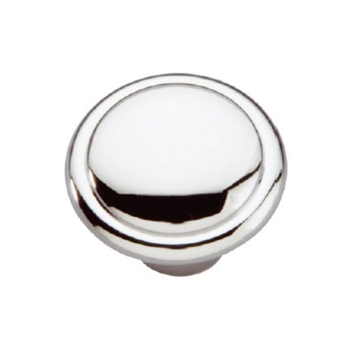 Hickory Hardware Conquest 1-3/8 Inch Diameter Chrome Cabinet Knob P14848-26