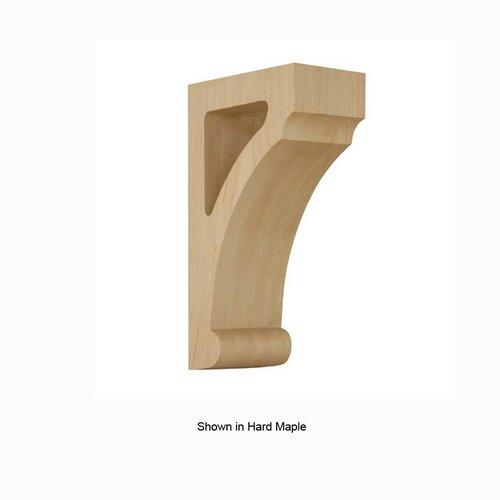 Brown Wood Medium Craftsman Open Corbel Unfinished Alder 01608008AL1