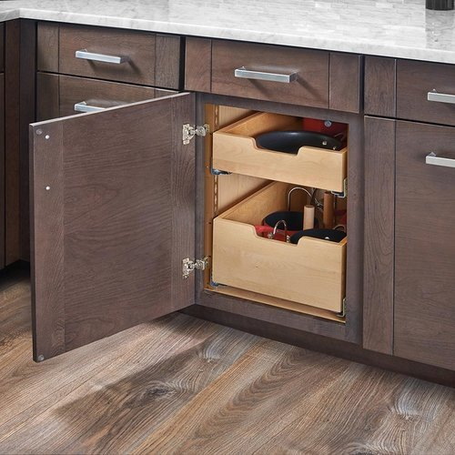Rev A Shelf Standard Drawer For 18 Inch Cabinet With Blum